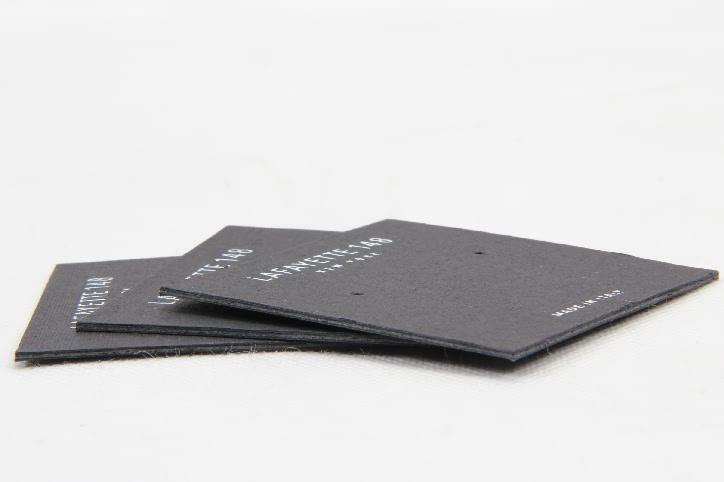 Black Wedding Earring Card Holders Packaging Box Linings technique