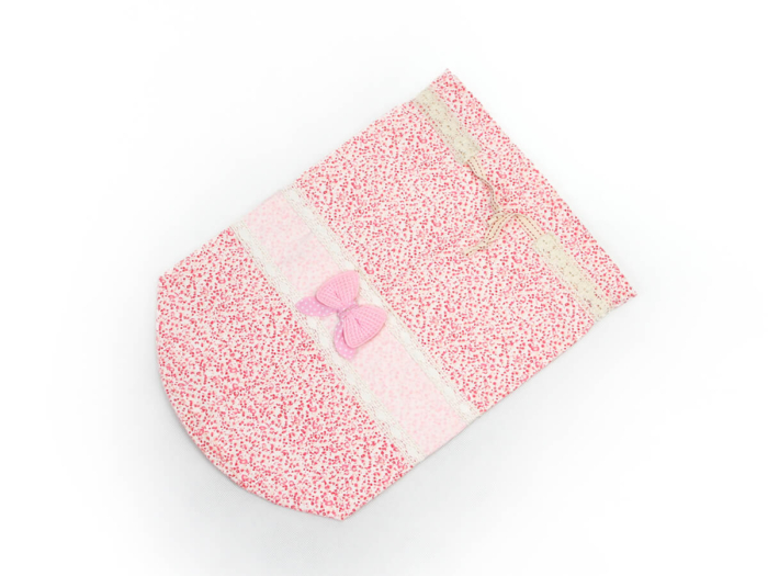 Bowknot Drawstring Underwear Bags Folding Display