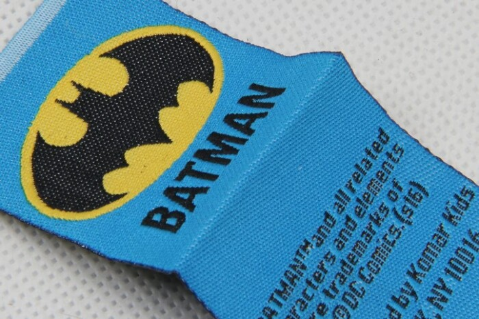 Boys' Casual Wear Apparel Woven Labels Set detail