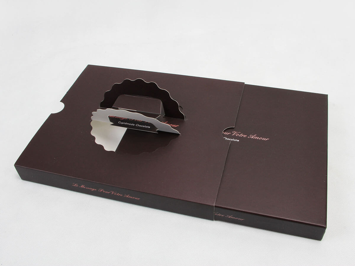 Chocolate Boxes Open Way