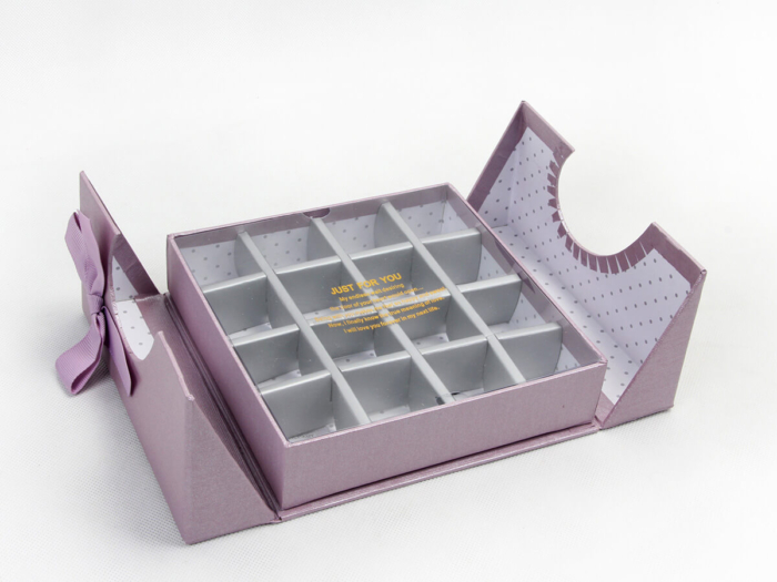 Chocolate Packaging Boxes Lining Material