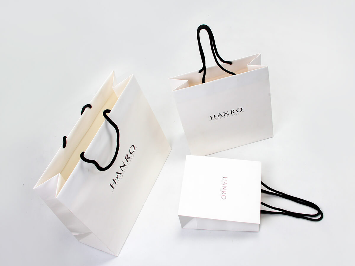 Classic Garment Shopping Paper Bags