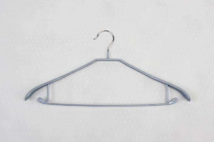 Coating Stainless Steel Suit Garment Hangers Set style