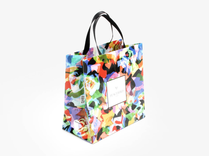 Colorful Women Garment Paper Bags