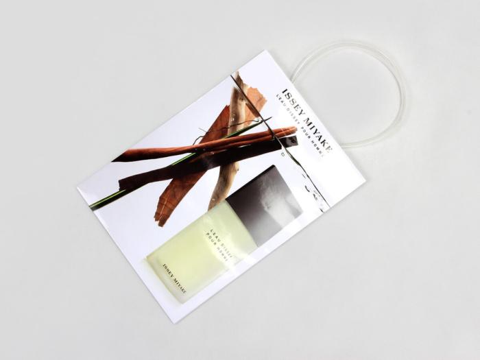 Cosmetic Shopping Paper Bags Folding Way
