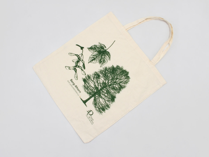 Cotton Tote Bags Folding Display