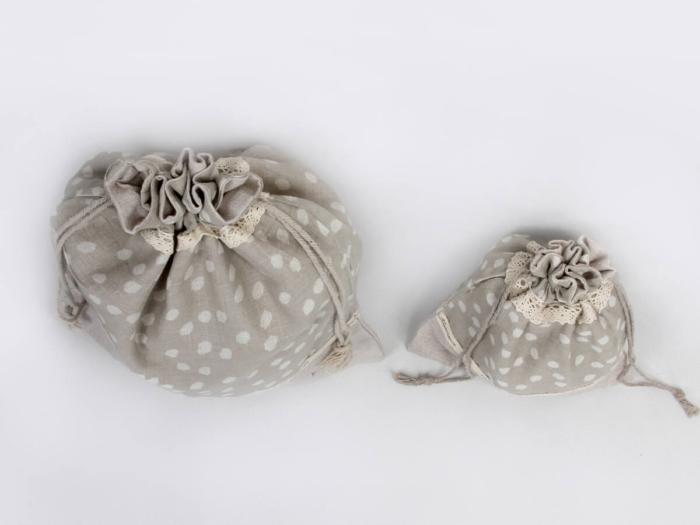 Cotton Underwear Bags Detail Display