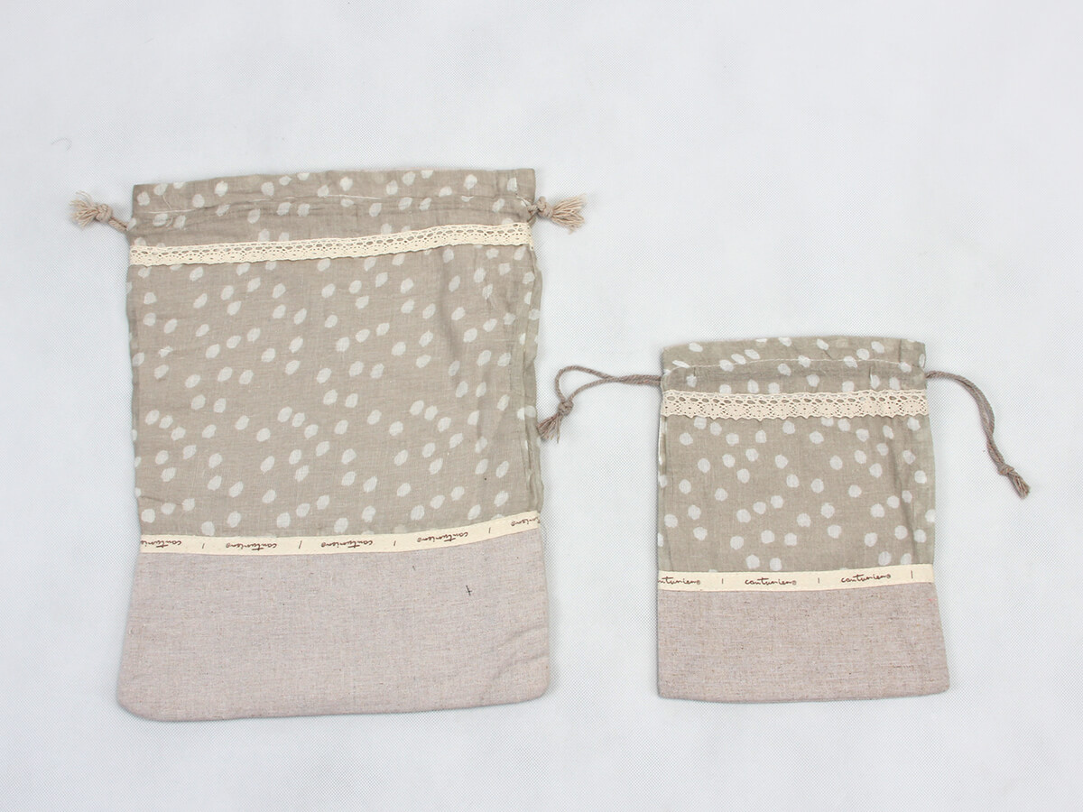 Cotton Underwear Bags Material Detail