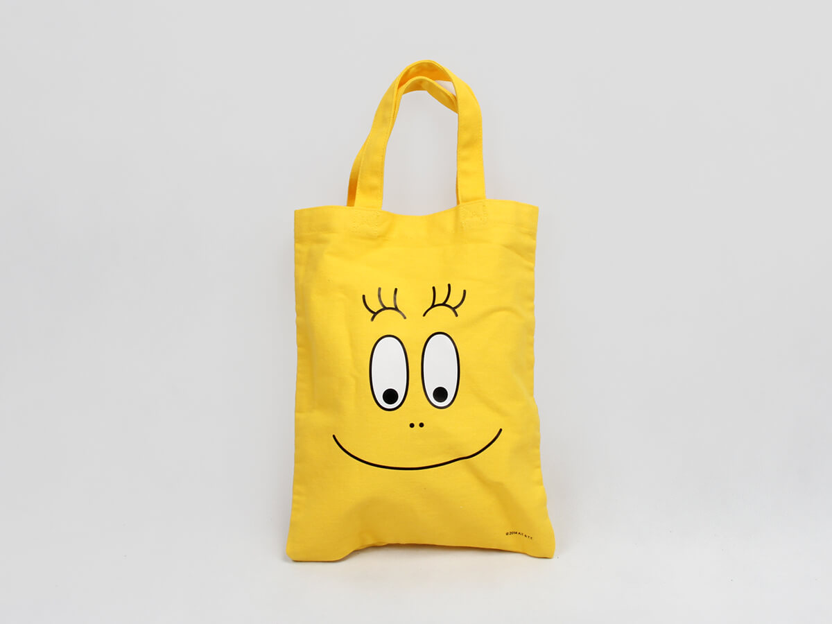 Cute Emoji Cotton Handle Bags