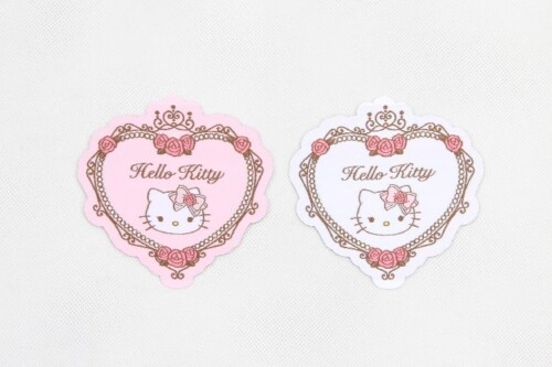 Cute Fancy Heart Shape Clothing Woven Labels