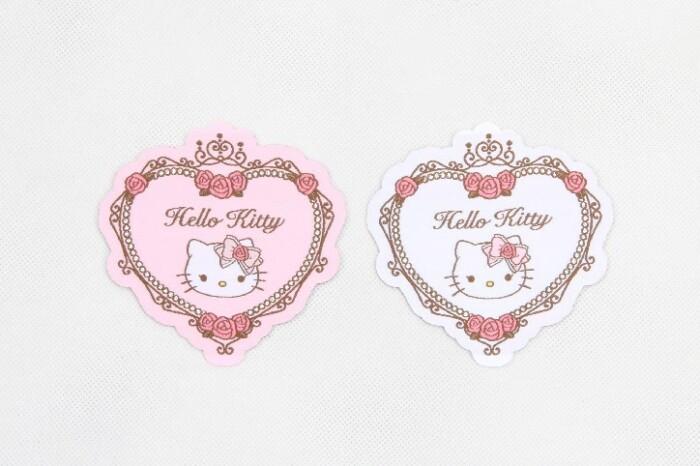 Cute Fancy Heart Shape Clothing Woven Labels