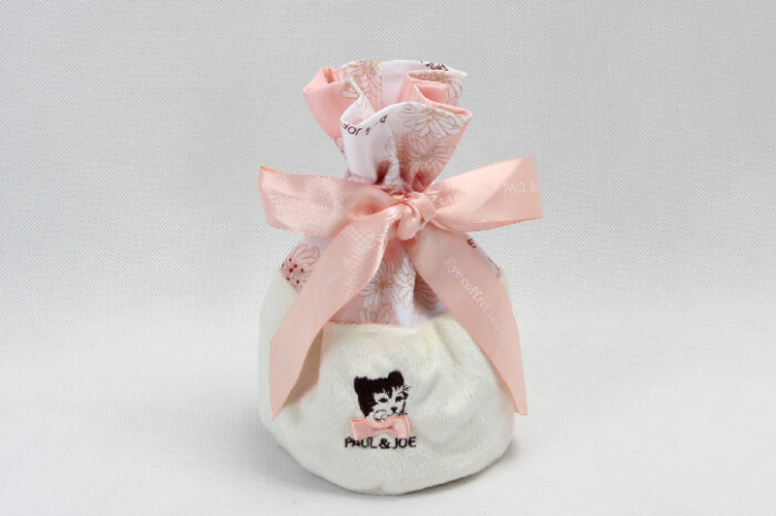 Cute Lovely Polyester Lint Cosmetic Bags Drawstring Pouches