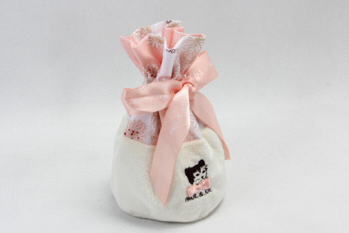 Cute Lovely Polyester Lint Cosmetic Bags Drawstring Pouches style