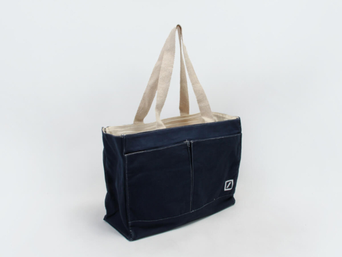 Denim Canvas Handle Bags