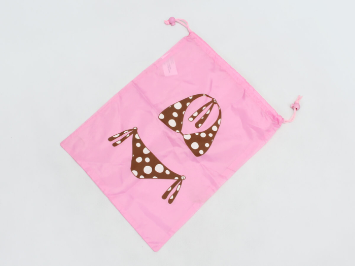 Drawstring Underwear Bags Folding Way