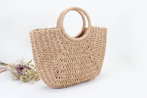ECO-friendly Paper Woven Beach Bags