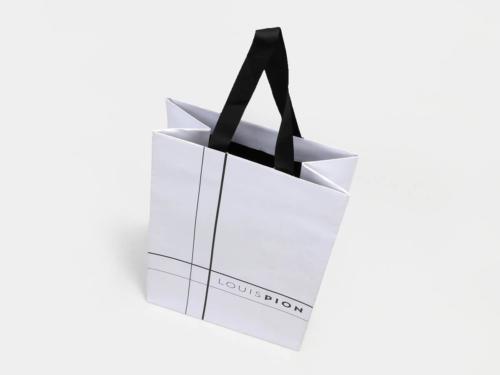 Elegant Snow White Gift Paper Bags