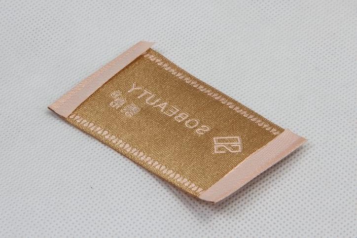 Elegant Woven Neck Labels For Women's Wear back