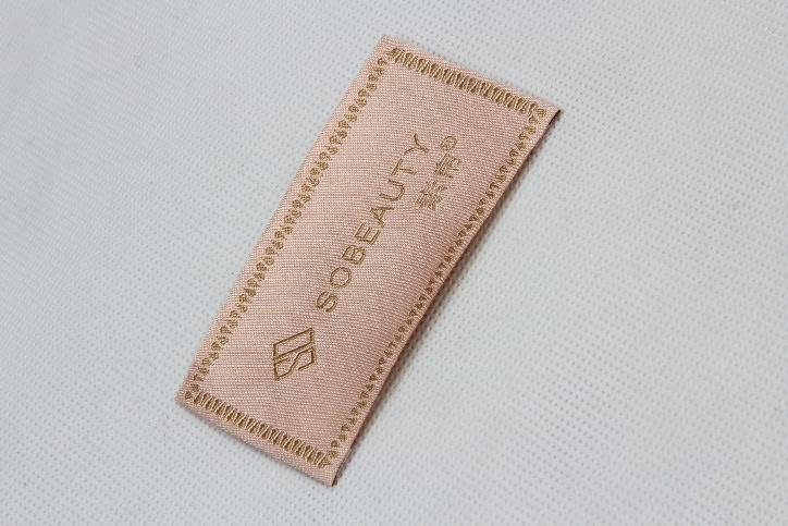 Elegant Woven Neck Labels For Women's Wear style