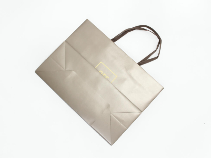Fashion Accessories Store Shopping Paper Bags Folding Way