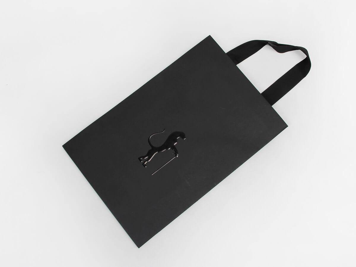 Garment Suit Shopping Paper Bags Folding Way