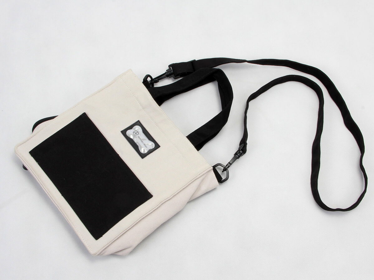 Gift Canvas Handle Bag Folding Display