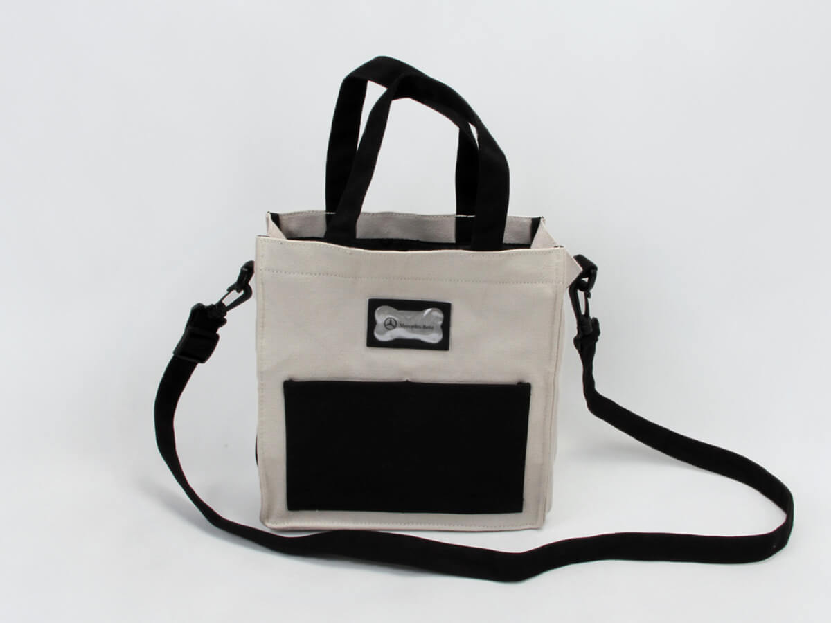 Gift Canvas Handle Bag With Long Handle