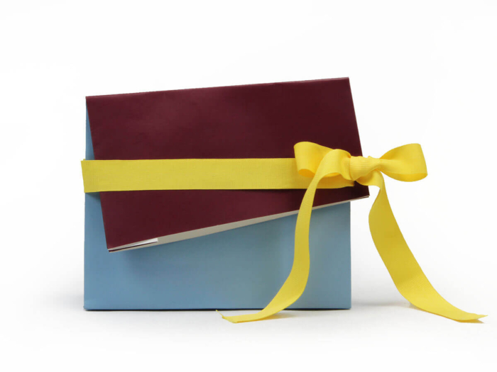 Gift Paper Bags Ribbons Display