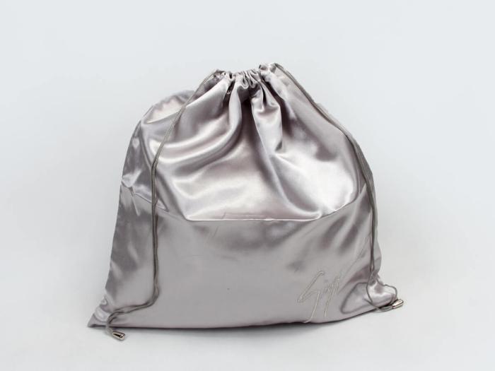 Glossy Satin Drawstring Underwear Bags