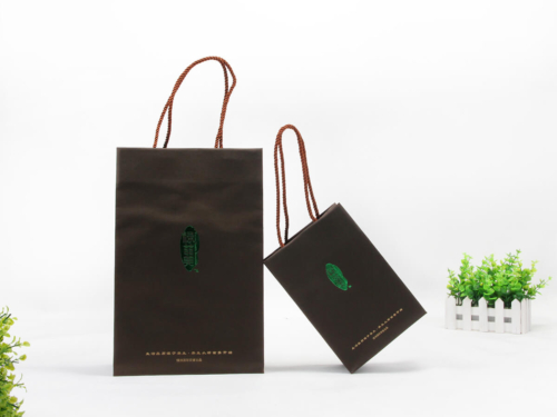 Health Products Paper Shopping Bags