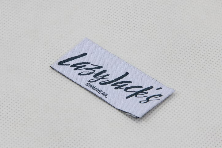 High Quality Woven Swimwear Labels side