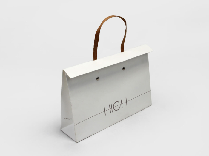 High end Gift Handle Paper Bags