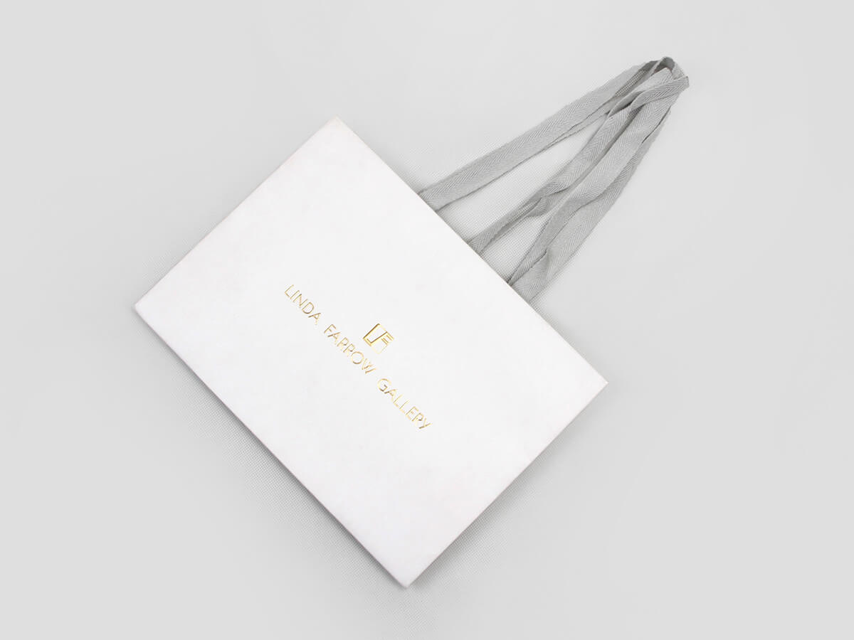 High-end Glasses Shopping Paper Bags Folding Way