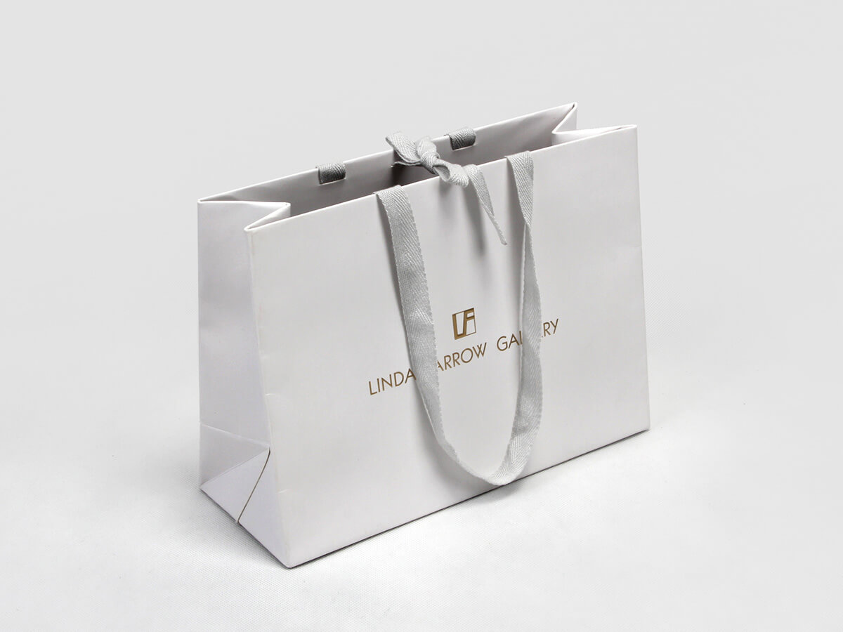 High-end Glasses Shopping Paper Bags