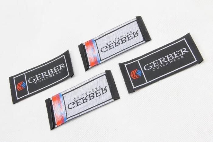 High-end Uniform Garment Woven Labels side