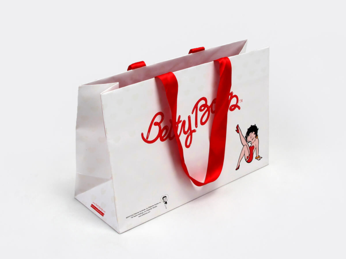 High heels Shoe Shopping Paper Bags Side Display