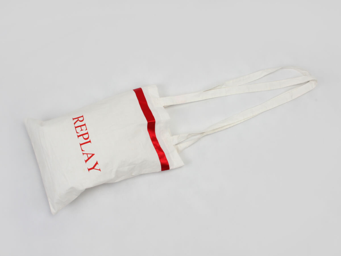 Hospital Dedicated Cotton Tote Bags Handle Detail