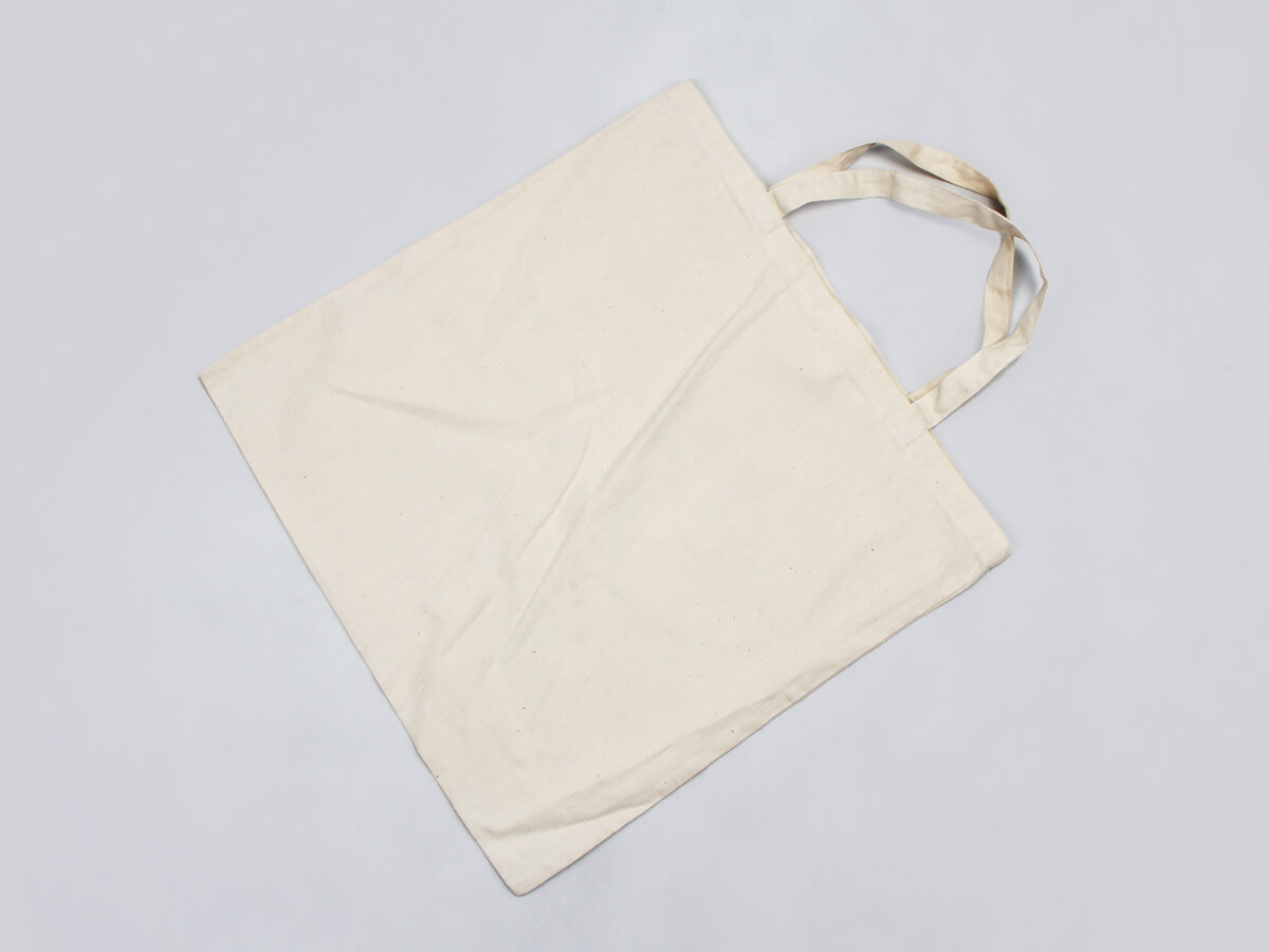 Hot Balloon Cotton Handle Bags Back Display