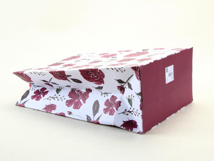Large Purple Roses Gift Bags Corner