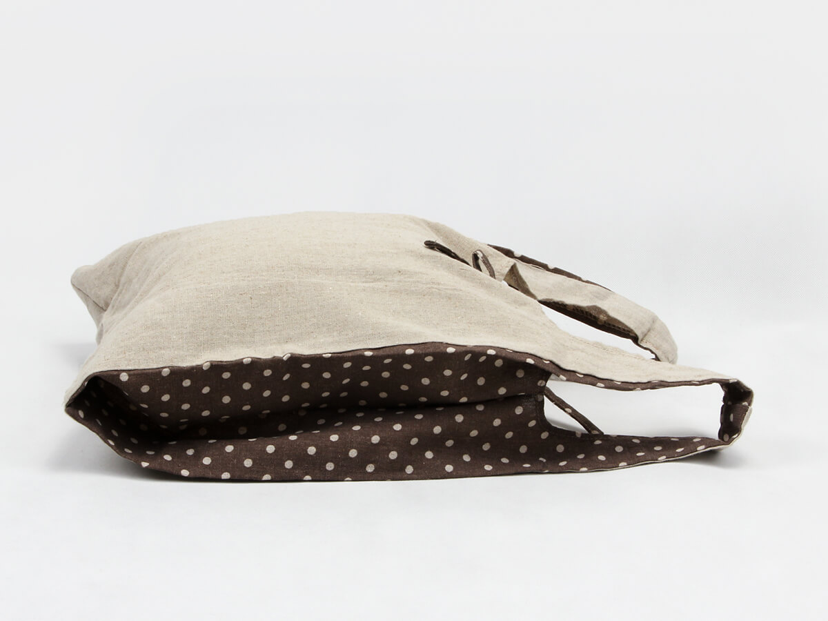 Linen Vest Carrier Bags Material