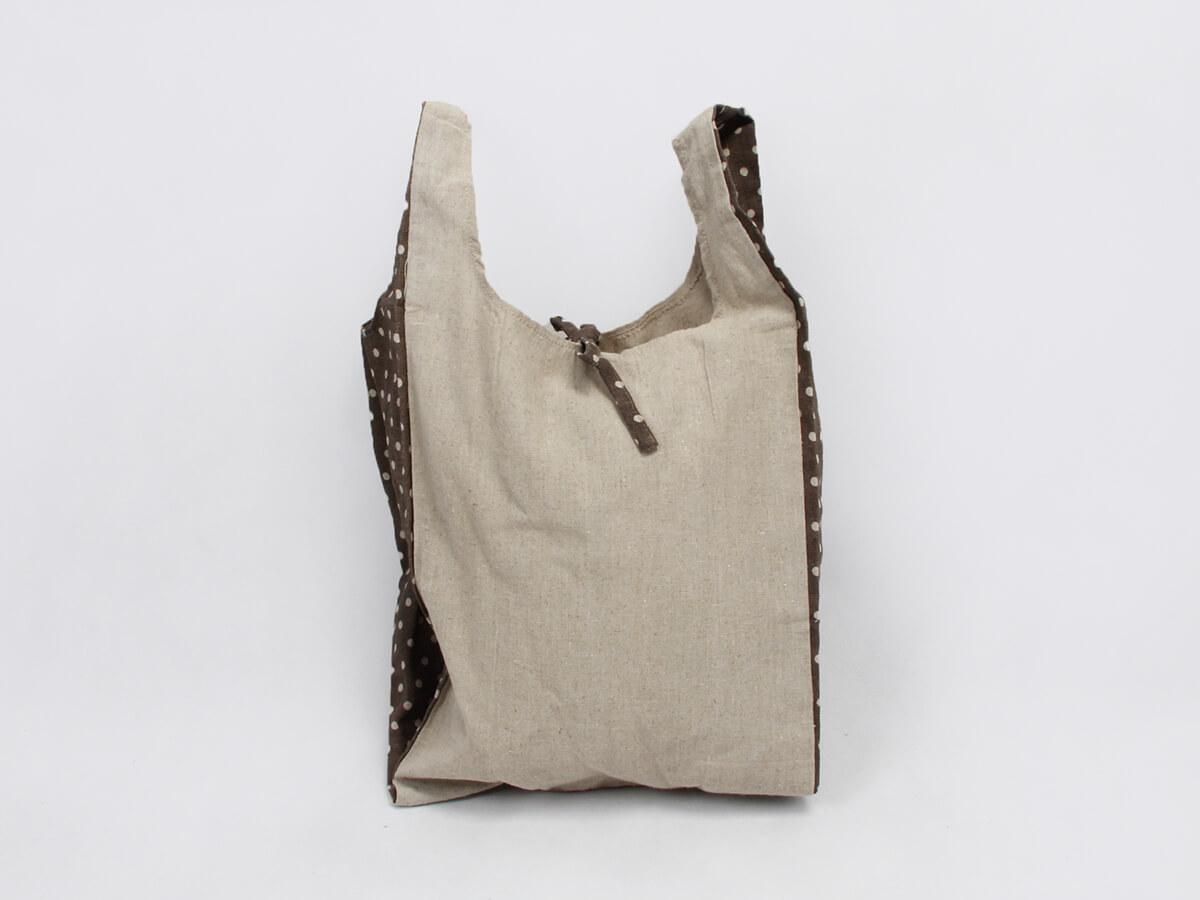 Linen Vest Carrier Handle Bags