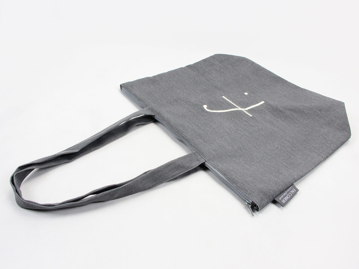 Luxury Canvas Tote Bags Handle Detail