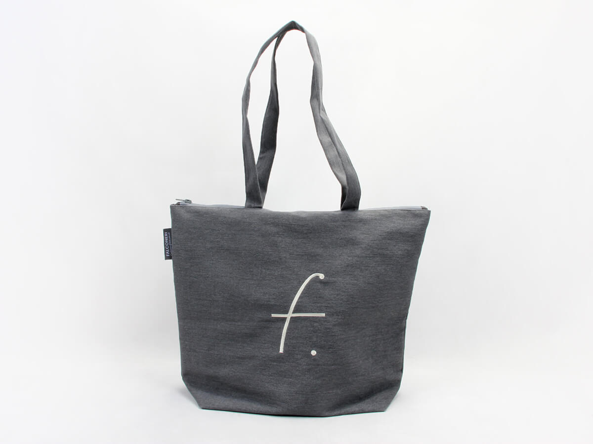 Luxury Canvas Tote Bags LOGO Printed
