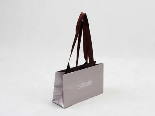 Luxury Gift Paper Bags With Long Handle
