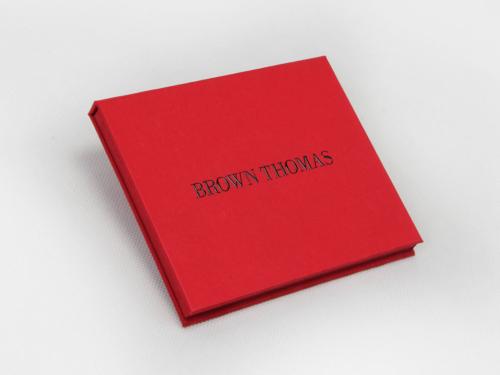 Luxury VIP Membership Card Packaging Boxes Side Display