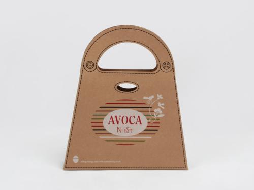 Natural Brown Kraft Cardboard Scarf Gift Bags