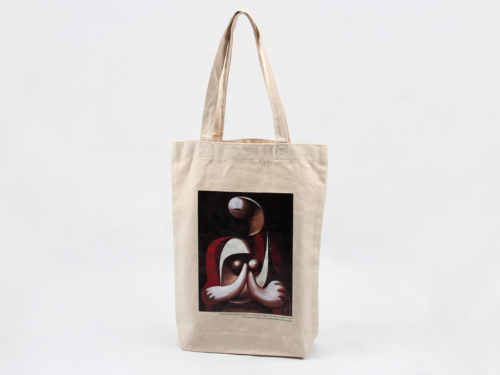 Oil Painting Grocery Canvas Tote Bags