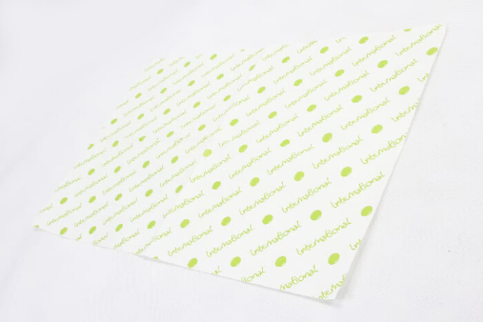 One-side White Kraft Wrapping Tissue Paper side