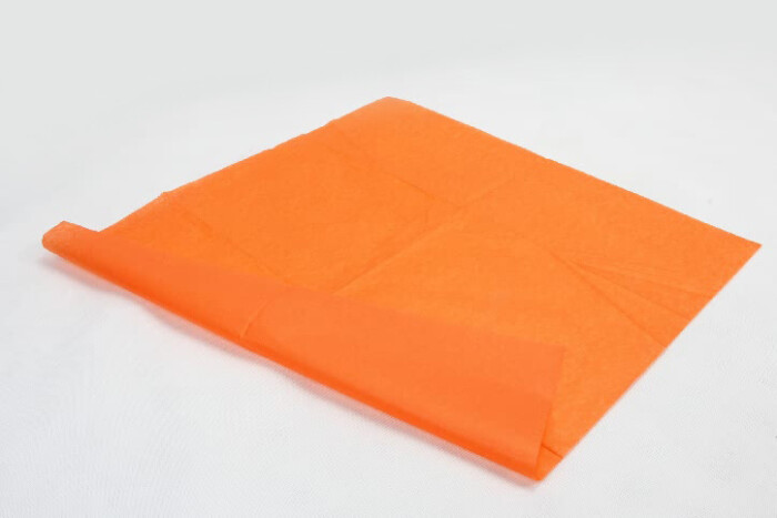 Orange Wrapping Cotton Tissue Paper