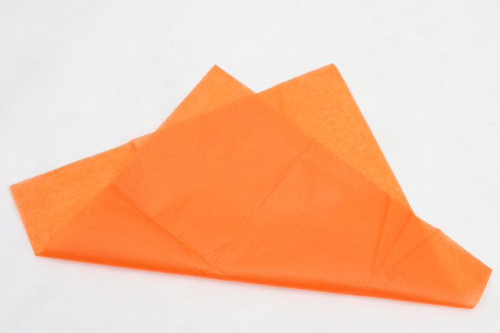 Orange Wrapping Cotton Tissue Paper material